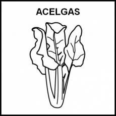ACELGAS - Pictograma (blanco y negro)