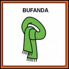 BUFANDA - Pictograma (color)