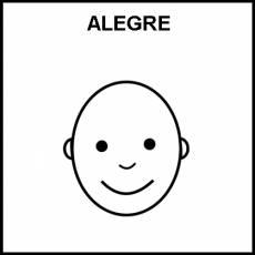 ALEGRE - Pictograma (blanco y negro)