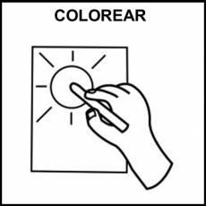 COLOREAR - Pictograma (blanco y negro)