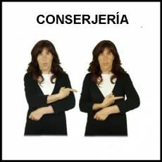 CONSERJERÍA - Signo