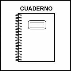 CUADERNO - Pictograma (blanco y negro)