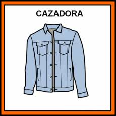 CAZADORA - Pictograma (color)