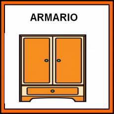 ARMARIO - Pictograma (color)