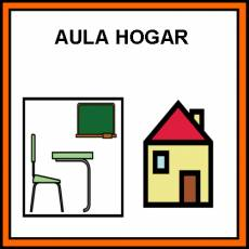 AULA HOGAR - Pictograma (color)