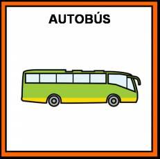 AUTOBÚS - Pictograma (color)