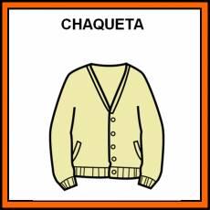 CHAQUETA - Pictograma (color)
