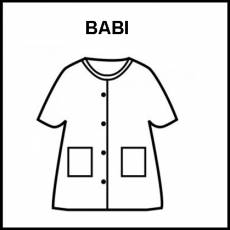 BABI - Pictograma (blanco y negro)