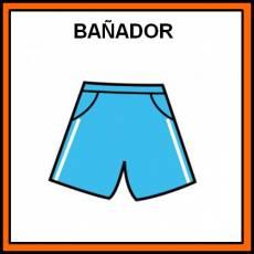 BAÑADOR (CHICO) - Pictograma (color)