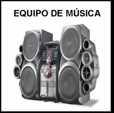 EQUIPO DE MÚSICA - Foto