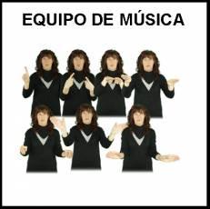 EQUIPO DE MÚSICA - Signo