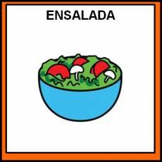ENSALADA - Pictograma (color)