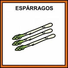 ESPÁRRAGOS - Pictograma (color)