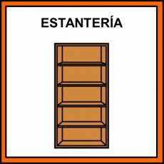 ESTANTERÍA - Pictograma (color)