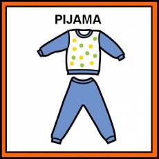 PIJAMA - Pictograma (color)