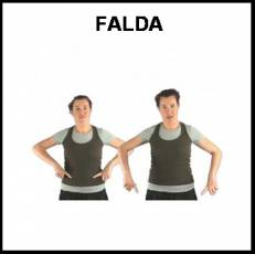 FALDA - Signo