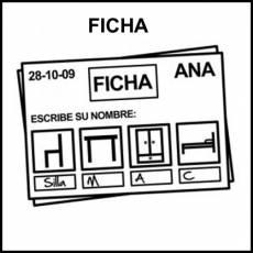 FICHA - Pictograma (blanco y negro)