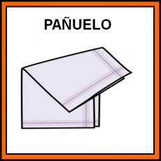 PAÑUELO (TELA) - Pictograma (color)