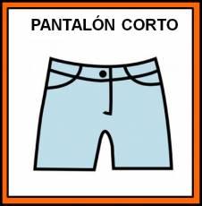 PANTALÓN CORTO - Pictograma (color)