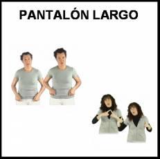PANTALÓN LARGO - Signo