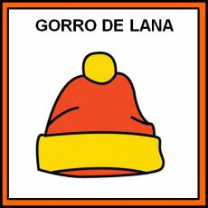 GORRO DE LANA - Pictograma (color)