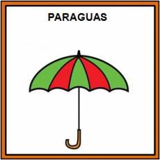 PARAGUAS - Pictograma (color)