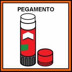 PEGAMENTO DE BARRA - Pictograma (color)