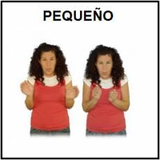 PEQUEÑO - Signo