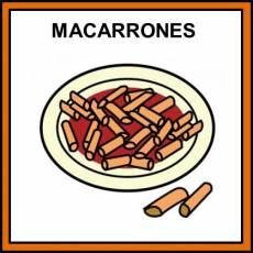 MACARRONES - Pictograma (color)