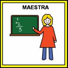 MAESTRA - Pictograma (color)