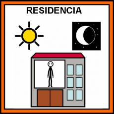 RESIDENCIA - Pictograma (color)