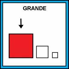 GRANDE - Pictograma (color)