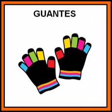GUANTES - Pictograma (color)