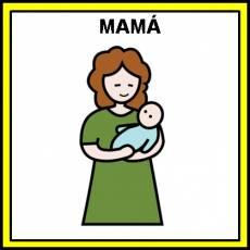 MAMÁ - Pictograma (color)