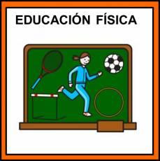 EDUCACIÓN FÍSICA - Pictograma (color)