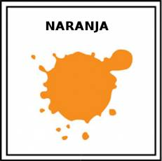 NARANJA (COLOR) - Pictograma (color)