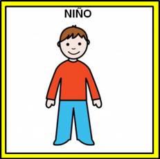 NIÑO - Pictograma (color)
