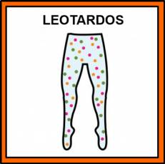 LEOTARDOS - Pictograma (color)