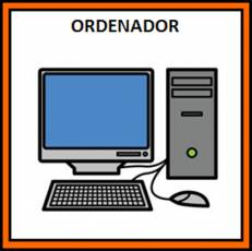 ORDENADOR - Pictograma (color)