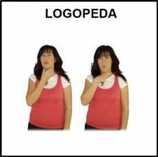 LOGOPEDA (MUJER) - Signo