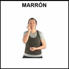 MARRÓN - Signo