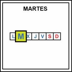 MARTES - Pictograma (color)