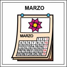 MARZO - Pictograma (color)