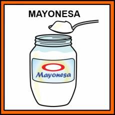 MAYONESA - Pictograma (color)