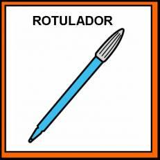 ROTULADOR - Pictograma (color)