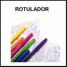 ROTULADOR - Foto