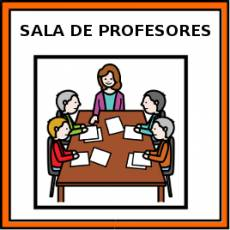 SALA DE PROFESORES - Pictograma (color)