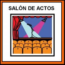SALÓN DE ACTOS - Pictograma (color)