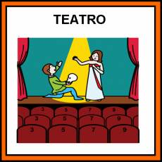 TEATRO - Pictograma (color)