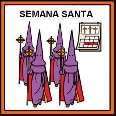 SEMANA SANTA - Pictograma (color)